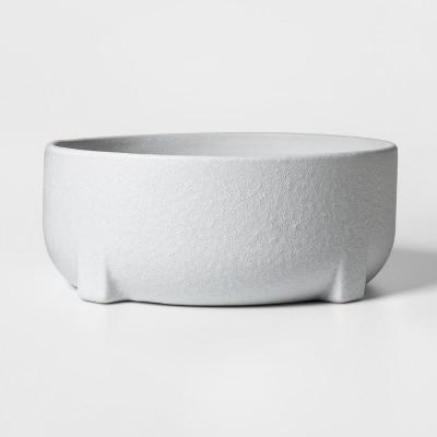10  x 4  Ceramic Planter Bowl White - Project 62™