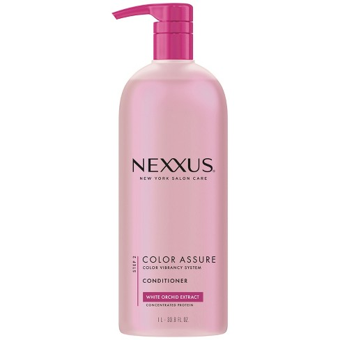 Nexxus White Orchid Extract Color Assure with Pump Restoring Conditioner - 33.8 fl oz - image 1 of 6