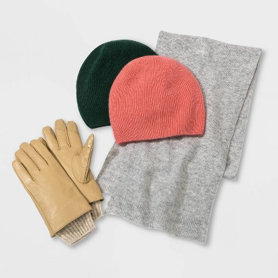 Winter Accessories Cashmere and Leather Collection - A New Day™