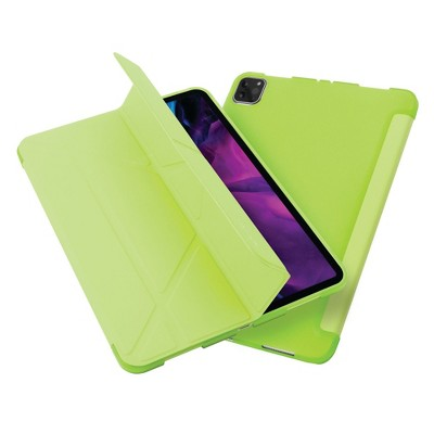 """Insten - Tablet Case for iPad Pro 12.9"""" 2020, Multifold Stand, Magnetic Cover Auto Sleep/Wake, Pencil Charging, Green"""