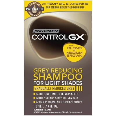 Just For Men Control GX Light Shades Shampoo - 4oz