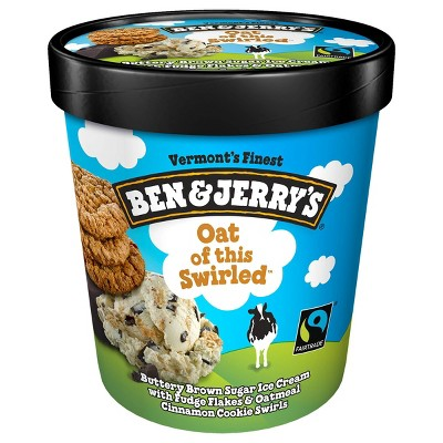 Ben & Jerry's Oat Of This Swirled Ice Cream - 16oz