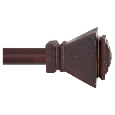 Iverson 5/8  Standard Decorative Window Curtain Rod - Kenney™