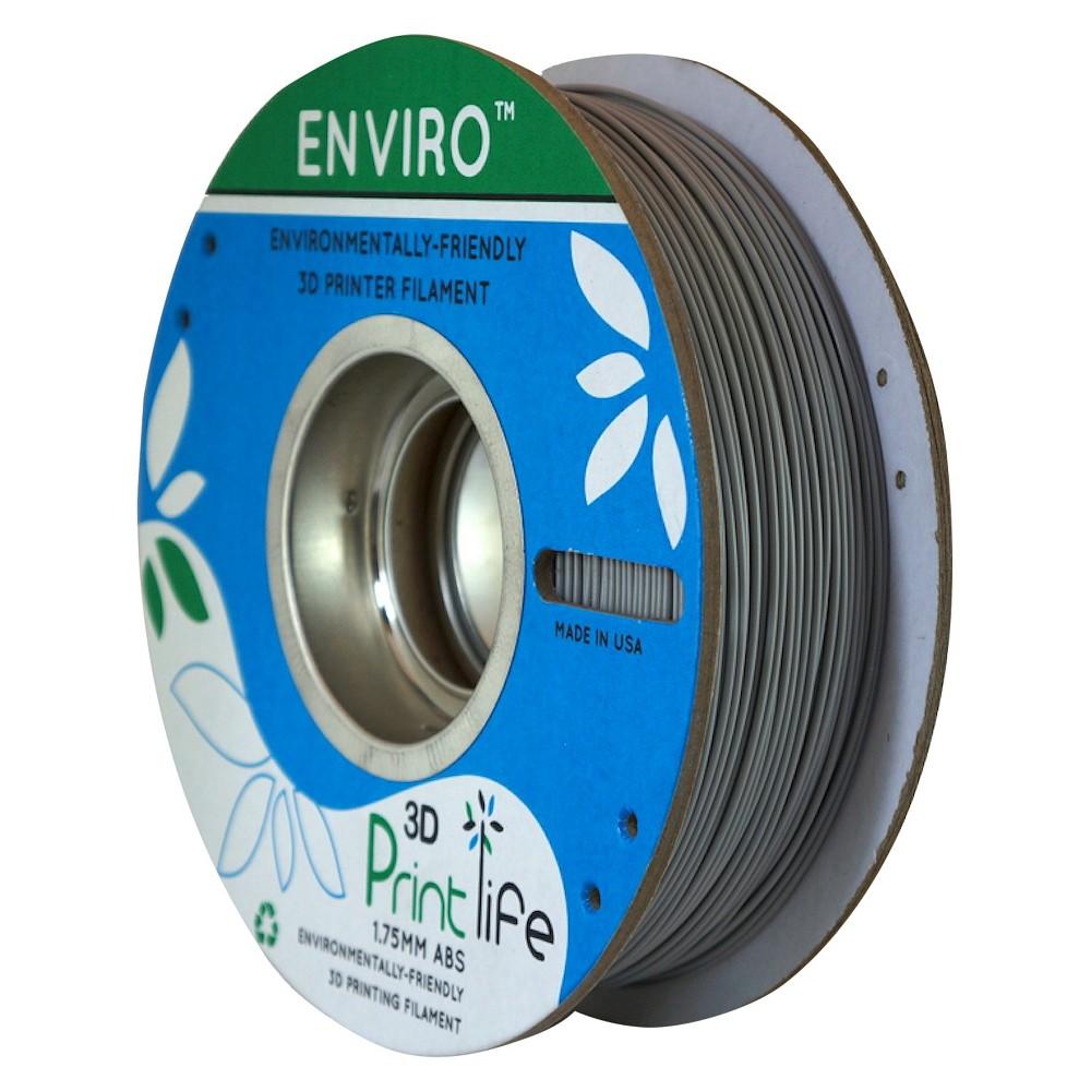 Image of 3D Printlife Enviro Eco-Friendly 1.75mm Premium Abs Filament - Gray (8130556)