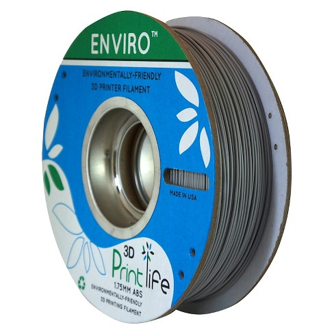 3D Printlife Enviro Eco-Friendly 1.75mm Premium ABS Filament - Gray (8130556) - image 1 of 3