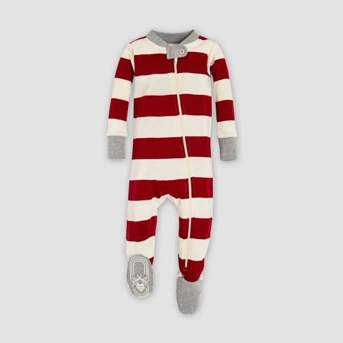 f6feca4f2 Burt s Bees Baby Striped Holiday Organic Cotton...   Target