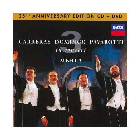 Lucio Pavarotti - Three Tenors 25th Anniversary (CD) - image 1 of 1