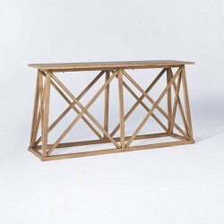 Copperton Wood X Base Console Table - Threshold™ designed with Studio McGee
