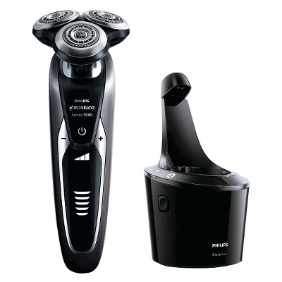 Philips Norelco Series 9300 Wet & Dry Men's Rechargeable Electric Shaver with Smartclean - S9311/84