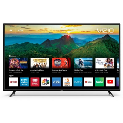 VIZIO D-Series 60  Class (59.5  Diag.)4K HDR Smart TV - Black (D60-F3)