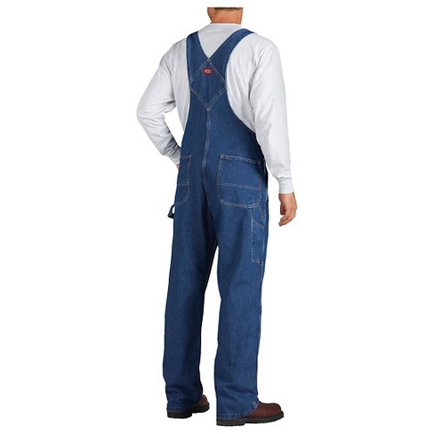 c95608fccbe9 Dickies® Men's Washed Denim Bib Overall- Stone Washed 38x32 : Target