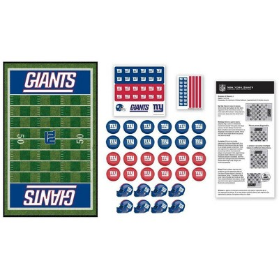 NFL New York Giants Checkers Game