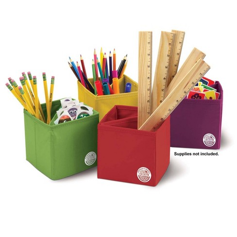 2pk 4 per pack Essential Collapsible Storage Boxes - Sensational Classroom - image 1 of 1