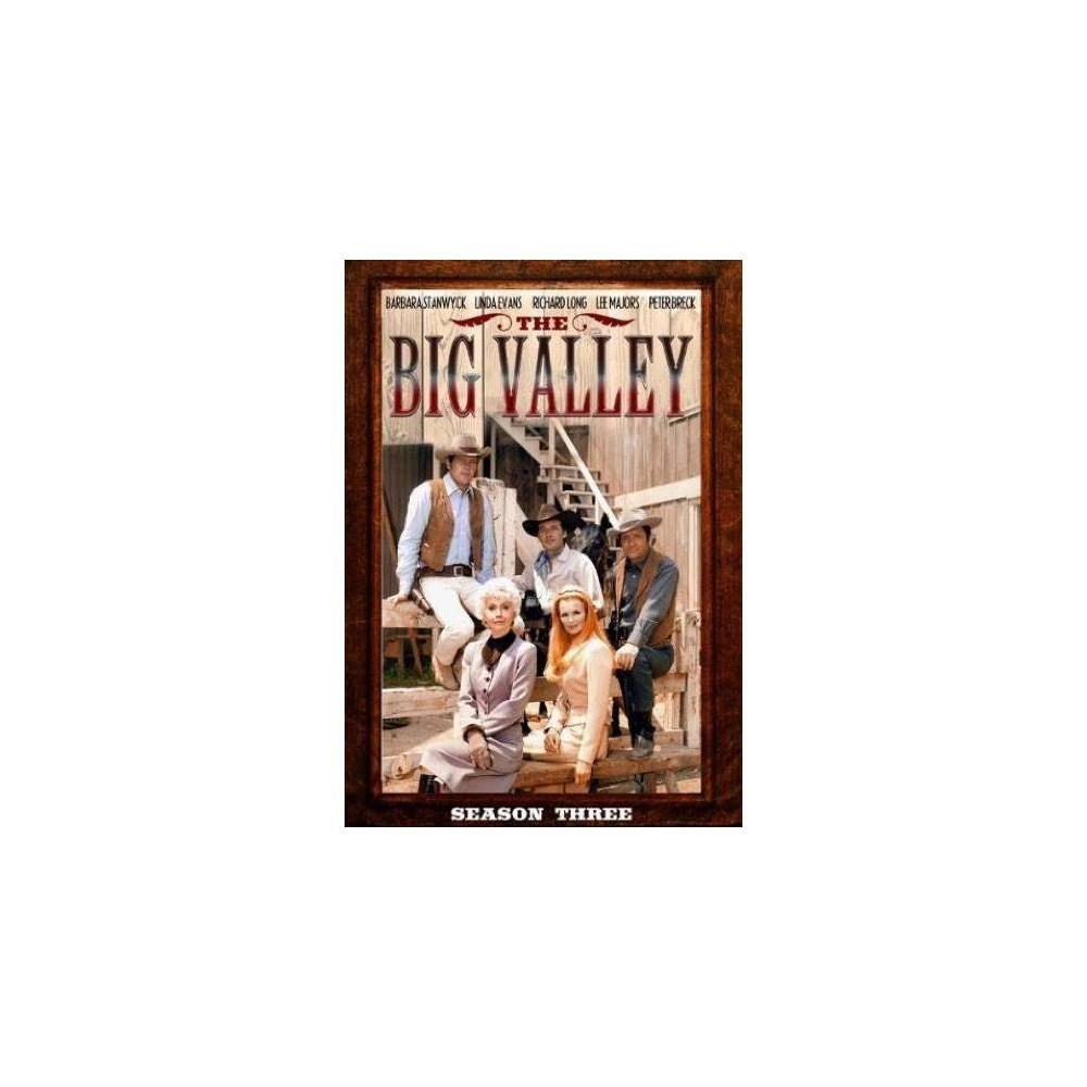 The Big Valley Season Three Dvd 2014