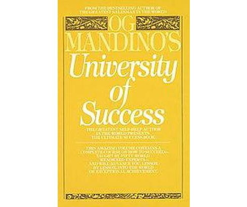 Og Mandino's University of Success (Reissue) (Paperback) - image 1 of 1