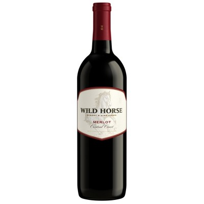 Wild Horse Merlot Red Wine - 750ml Bottle