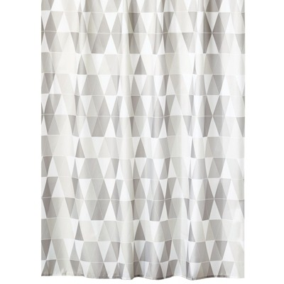 mDesign Water Repellent Fabric Shower Curtain/Liner