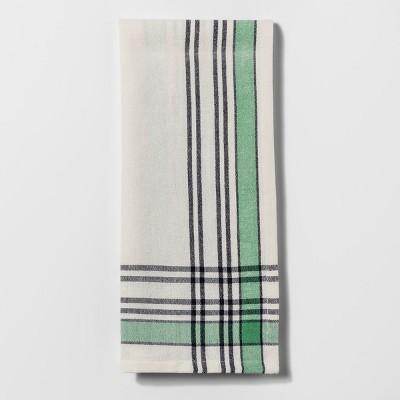 Plaid Yarn Dye Woven Kitchen Towel - Threshold™