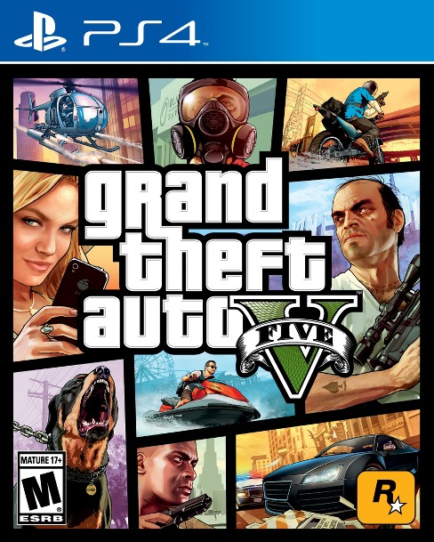 Grand Theft Auto V - PlayStation 4 - image 1 of 15