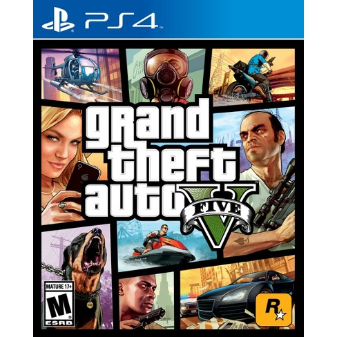 Grand Theft Auto V - PlayStation 4 - image 1 of 4
