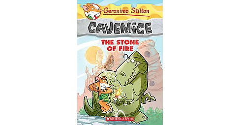 Stone of Fire (Reissue) (Paperback) (Geronimo Stilton) - image 1 of 1