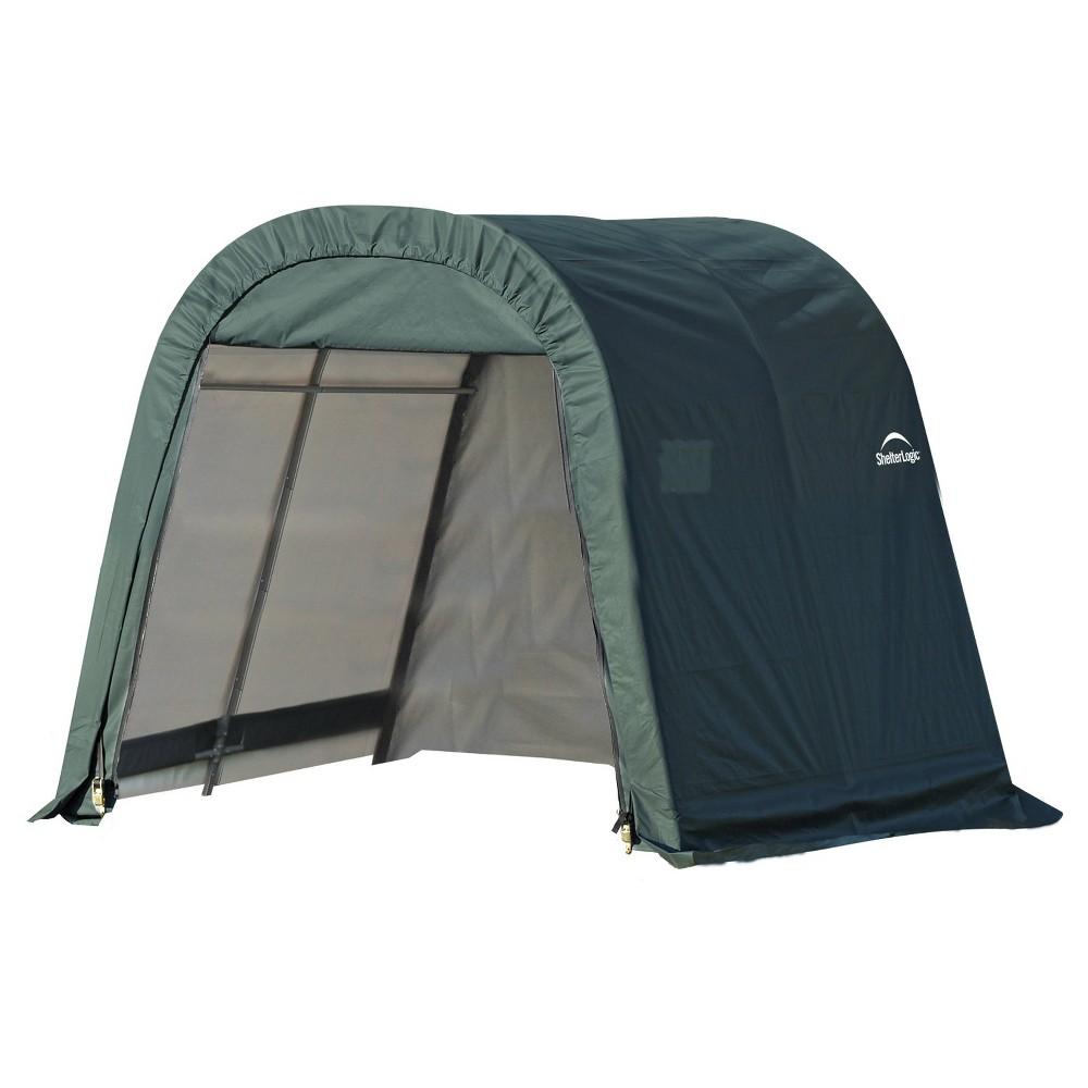 8' X 8' X 8' Round Style Shelter - Green - Shelterlogic