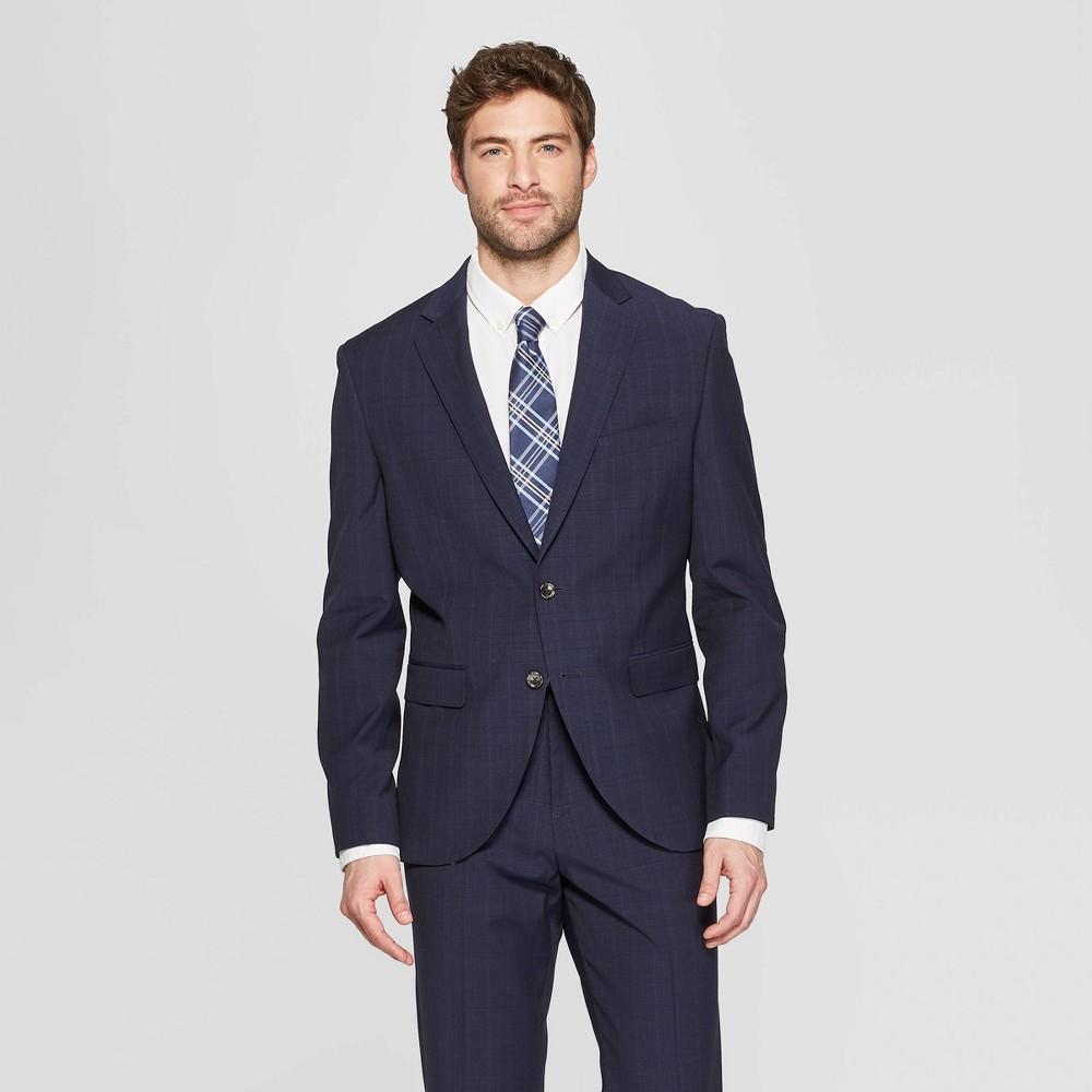 Mens Slim Fit Suit Jacket - Goodfellow & Co Navy Voyage 40L Blue Voyage Cheap