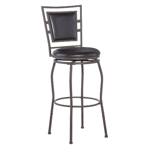 Townsend Adjustable Height Barstool Set of 3 - Linon - image 1 of 6