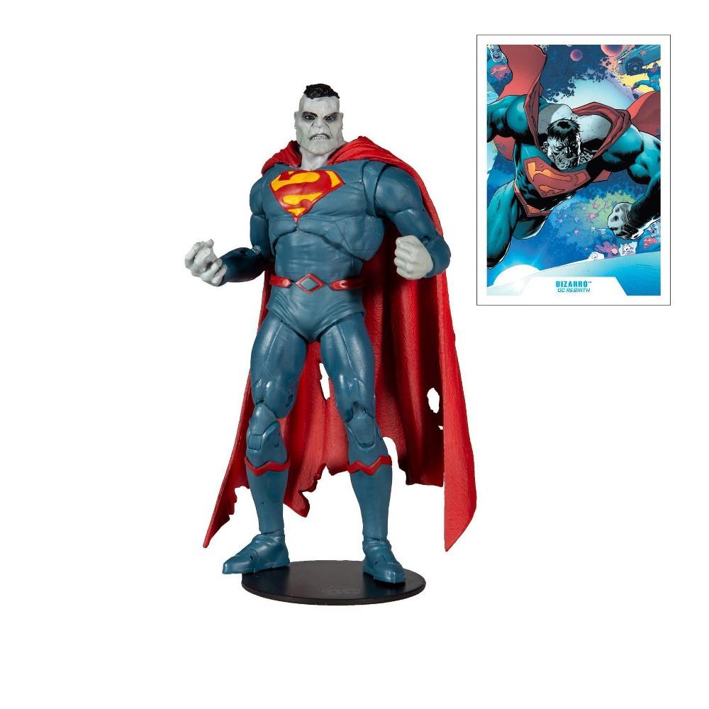 Dc Comics Multiverse Figure Superman Bizarro Rebirth