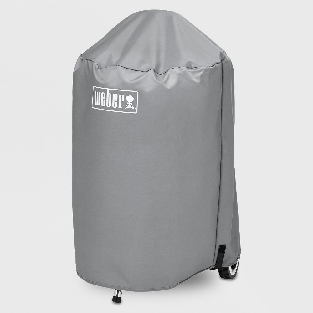 Weber 22 Value Charcoal Grill Cover, Gray 51335207