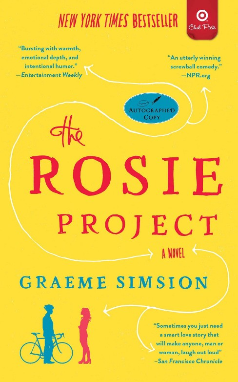 Target Club Pick June 2014: The Rosie Project: A Novel by Graeme Simsion(Paperback) - image 1 of 1