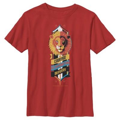 Boy's Harry Potter Gryffindor Lion Emblem T-Shirt