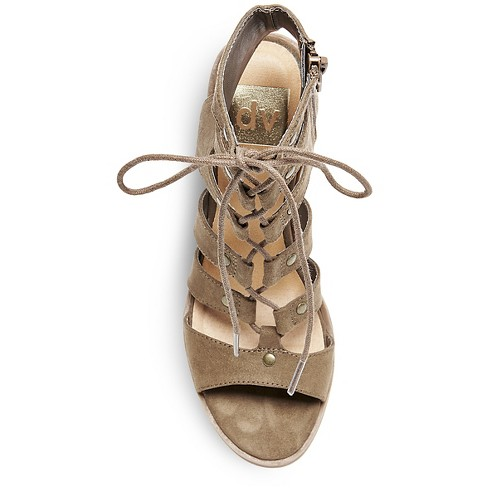 1b454b3b086d Women s Dv Zoey Gladiator Sandals Stacked Heels   Target