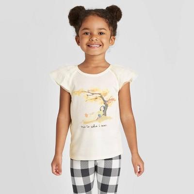 Toddler Girls' Disney Princess Mulan T-Shirt - Off White