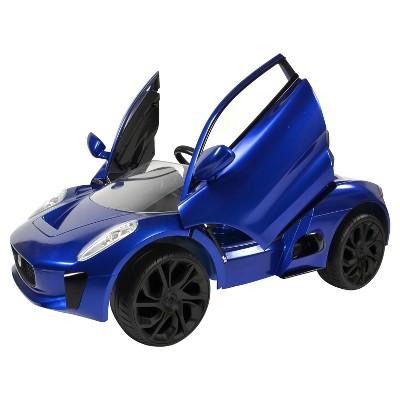 Rollplay Kidsu0027 Ride On 6V Jaguar C X75   Blue : Target