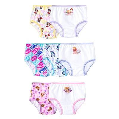 Toddler Girls' Paw Patrol 7-Pack Bikini Briefs - Multi 2T