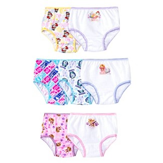 Toddler Girls' Paw Patrol 7-Pack Bikini Briefs - Multi 4T
