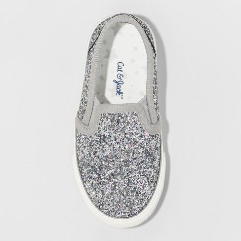 4332afee6d02 Toddler Girls  Madigan Slip on Glitter Sneakers- Cat   Jack™. Shop all Cat    Jack