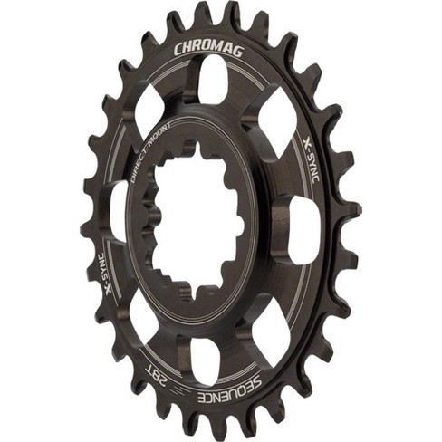 Chromag Sequence X-Sync Direct Mount Chainring: 28T for SRAM GXP Cranks - image 1 of 1