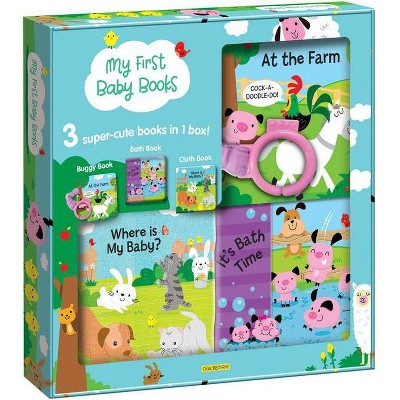 My First Baby Books - by Marine Guion (Mixed Media Product)