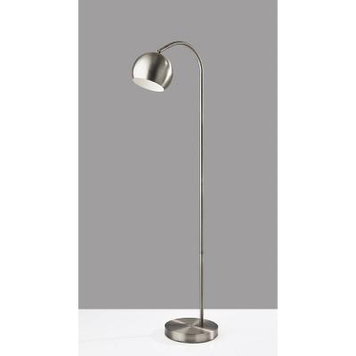 Emerson Floor Lamp Silver - Adesso