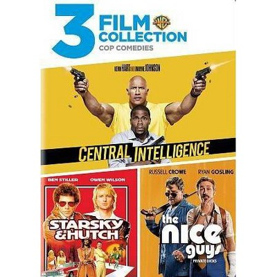 3 Film Collection: Central Intelligence / Starsky and Hutch / The Nice Guys (DVD)