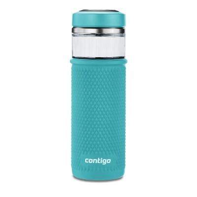 Contigo 20oz Water Bottle with Quick-Twist Lid Juniper