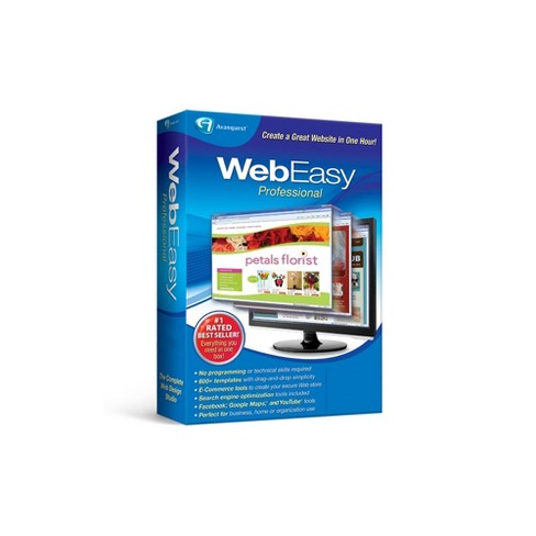 Avanquest Web Easy Professional - PC Digital - image 1 of 1
