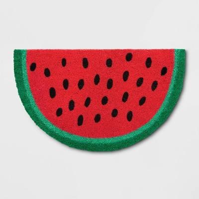 18 X30  Watermelon Tufted Doormat - Sun Squad™