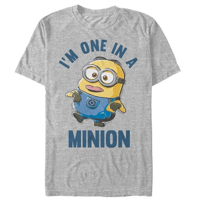 Men's Despicable Me I'm One in Minion T-Shirt