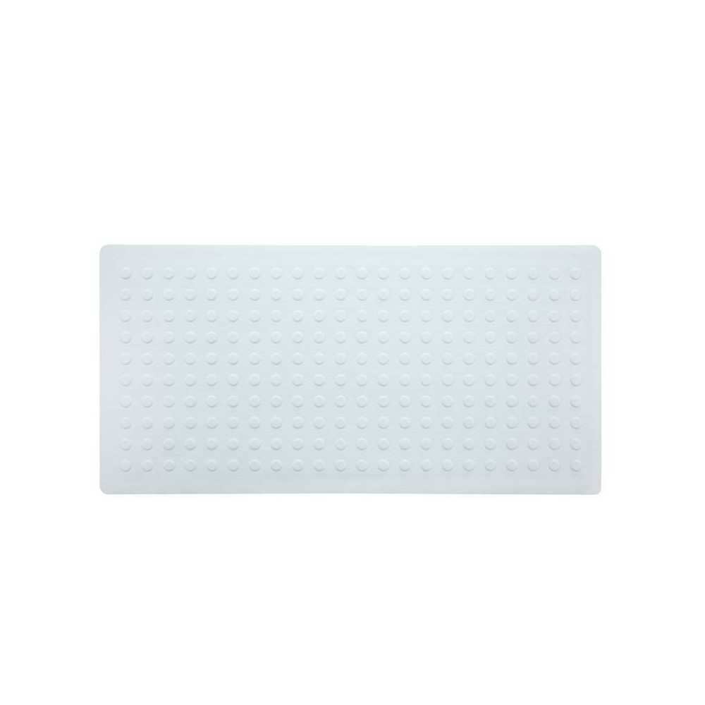 Xl Non Slip Rubber Bathtub Mat With Microban White Slipx Solutions