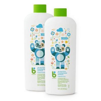 Babyganics Alcohol-Free & Fragrance Free Foaming Hand Sanitizer - 16 fl oz/2pk Each