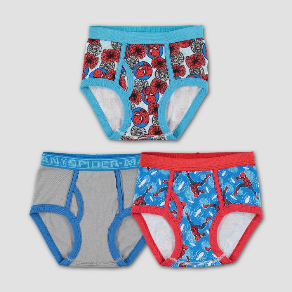 Image of Boys' Marvel Spider-Man 3pk Underwear - 4, Boy's, MultiColored