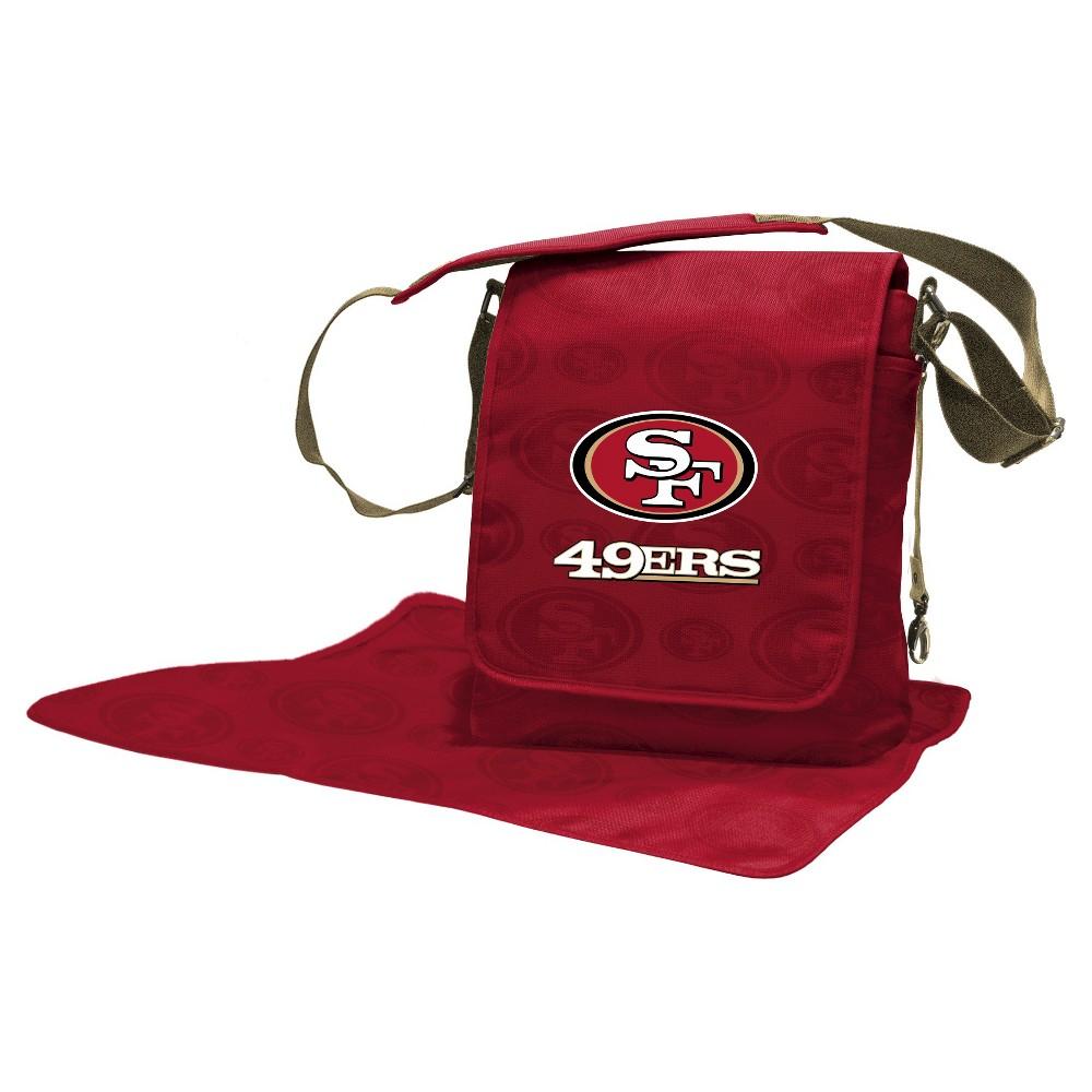 San Francisco 49ers LilFan Diaper Messenger Bag